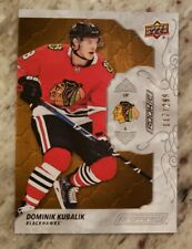 2019-20 Upper Deck Engrained Dominik Kubalik Rookie Oak Base 117/299