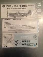 IPMS Scalemaster 1/48 Hun Hunting Mustang Phinal Phantom 5057 Feathered Eagle