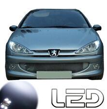 Peugeot 206 2 Ampoules LED Blanc Eclairage Veilleuses feux positions anti erreur