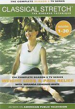 New Classical Stretch Complete Season 9 Miranda Esmonde Technique 4-DVD set