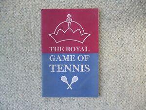 Moreton Morrell Tennis Court ( Warwickshire ) brochure / Real tennis history