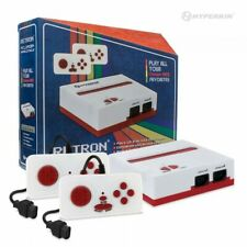 Red/White N1 Retron 1 NES Top Load FC Console System + 2x Wired Controllers