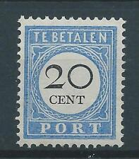 1894TG Nederland Portzegel P25 postfris, mooie zegel. zie foto's..
