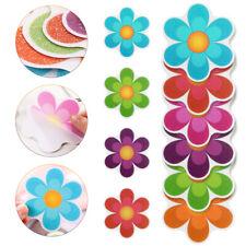10pc Bathroom Anti-Slip Self-adhesive Sticker Bathtub Shower Flower Non Slip Mat
