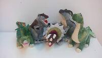 Peluche Dinosaurios Originales Animal Planet 38CM 5 Modelos T-Rex Triceratops Y
