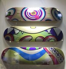 ComplexCon 2017 Takashi Murakami Skateboard Deck Set Of 3 Exclusive SOLD OUT