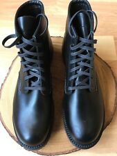 "Red Wing Heritage Beckman 6"" Roundtoe Black Featherstone Boot 9014 Size 9 D *"