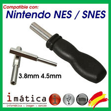 DESTORNILLADOR PARA SUPER NINTENDO NES SNES CARTUCHO GAME BOY JUEGO GB GBA SP