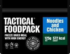 Tactical Foodpack Chicken & Noodles High Energy Freeze Dried Ration Pack