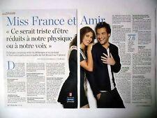 COUPURE DE PRESSE-CLIPPING : Iris MITTENAERE / AMIR [2pages] 07/2016 Miss France