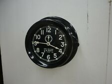 "Ww Ii Us Navy Chelsea Mark 1 Deck Clock 6"" in Bakelite Case 1942 Mk 1"