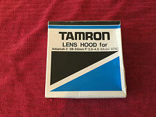 Tamron Lens Hood 26F For Adaptall 2 28-50mm F3.5-4.5 Model: 07A