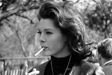 Diana Rigg Smoking From The Avengers 11x17 Mini Poster