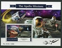 MALDIVES  2015 THE APOLLO MISSIONS  SOUVENIR SHEET MINT NEVER HINGED