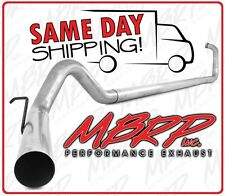 "03-07 FORD 6.0 6.0L POWERSTROKE DIESEL 4"" EXHAUST SYSTEM NO MUFFLER / NO CAT"