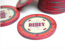 Keramik Button Rebuy - 4,7cm - Dealer Button