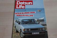 SV0225) Datsun Bluebird Diesel - Datsun Life 04/1981