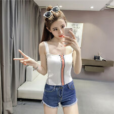 Korean Womans Ladies White Casual Loose Sleeve Tops T Shirt