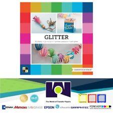 DCWV®️ 12 X 12 – PAPER STACK –GLITTER BRIGHTS PS-016-00027