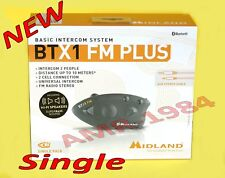 BLUETOOTH MIDLAND BTX1 FM PLUS SINGOLO FM  Advanced Intercom System C11142.04