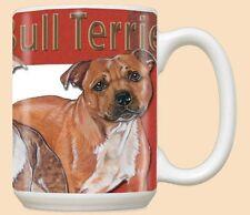 15 oz. Ceramic Mug (PS) - Staffordshire Bull Terrier MU512