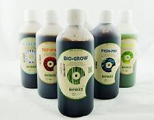 BIOBIZZ ALGAMIC, BLOOM, GROW, HEAVEN, FISHMIX, TOPMAX NUTRIENTS HYDROPONICS