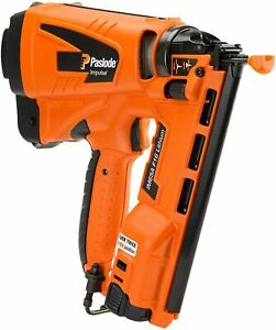 PASLODE IM65A LITHIUM F16 2ND FIX ANGLED BRAD NAILER 1 X LI-ION BATTERY Orange