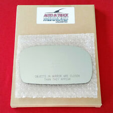 NEW Mirror Glass + ADHESIVE 02-05 HONDA CIVIC HATCHBACK Passenger Right Side RH
