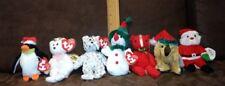 Lot of 7 Jingle Beanies 2002