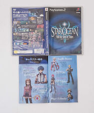 Star Ocean Till the End of Time ENIX PS2 Game Japan Used