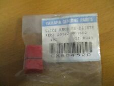 More details for genuine yamaha replacement slide knob re-bl (stereo) 29122 mc1602 #y438
