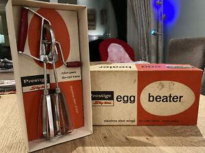 Vintage Prestige Egg Beater/Whisk in Original Box