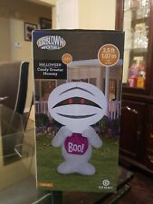 Halloween Inflatable Candy Mummy 3.5 ft Gemmy Airblown Party Greeter Yard Decor