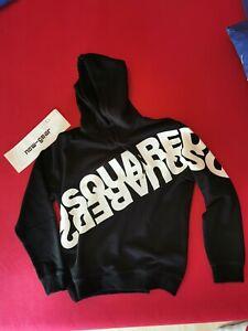 Dsquared2 Mirrored Logo Hooded Sweatshirt Hoodie XL Brandnew