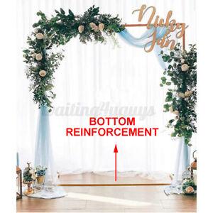 Wedding Stand Rack Iron Arch Door Party Garden Flower Backdrop Decor Supplies
