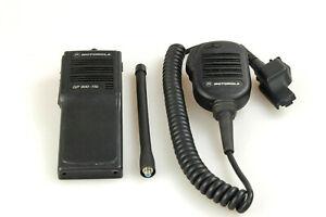 Motorola GP900-11b GP900 FuG-11b BOS Handfunkgerät inkl. original Mikrofon