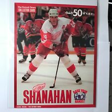 The Detroit News Brendan Shanahan Collector Card