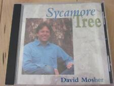 DAVID MOSHER SYCAMORE TREE CD GUITAR BANJO MANDOLIN BASS FIDDLE VOCALS FOLK