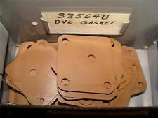 NEW OEM JOHNSON EVINRUDE OMC 335648 DVL OUTBOARD MOTOR CARBURETOR GASKET 0335648