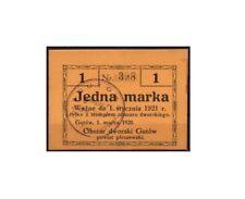 [10629] - NOTGELD GUTÓW, STADT, JEDNA MARKA, 01.03.1920, J-2803, ungebraucht,
