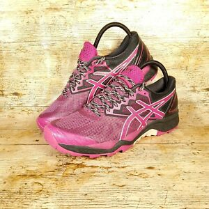 Asics Gel-Fujitrabuco 6 Womens Running Trainers T7E9N Sneakers Shoes Trail Pink