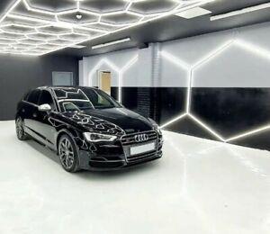 LARGE Hexagon Garage Restaurant Retail Workshop Detailing Ceiling Lighting 6SSL