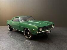 "1969 Chevrolet Camaro Green 1/18 Highway 61 "" Read"""