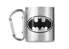 DC Comics Batman Gotham Superhero 8oz 220ml Carabiner Camping Outdoors Mug