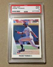 1990 LEAF Frank Thomas Rookie PSA 9 Chicago White Sox MINT RC Card ICONIC HOF