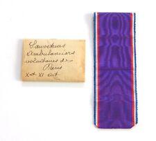 Ruban des années 1930/40 pour décorations ( 20 cm )