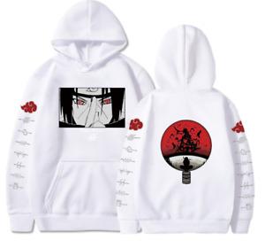 Anime Uchiha Itachi Printed Hoodie Naruto  Men Women Sweatshirt Cosplay Jacket