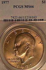 1977 $1 Eisenhower Dollar PCGS MS66