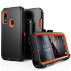 For Samsung A01/A21S/A11/A21/A12 Heavy Duty Case+Clip fits Otterbox Defender