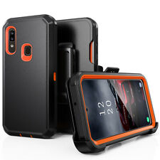 For Samsung Galaxy A01/A21S/A11/A21 Heavy Duty Case+Clip fits Otterbox Defender